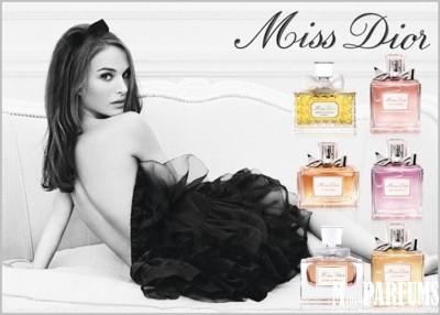 Ароматы коллекции Miss Dior