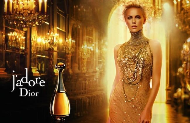 Реклама Диор с Терон