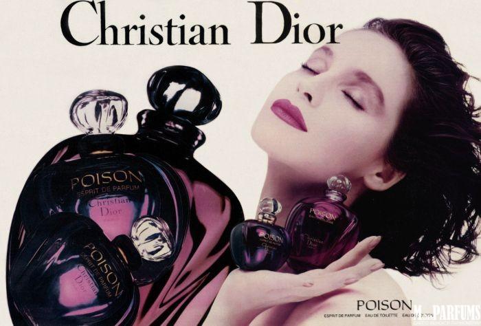Ароматы коллекции Poison Dior