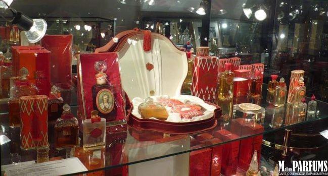 Музейная экспозиции парфюмерии в Москве