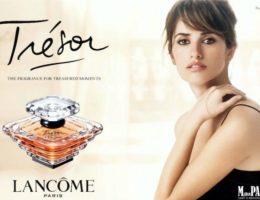 Пенелопа Крус – лицо аромата Trésor Lancôme
