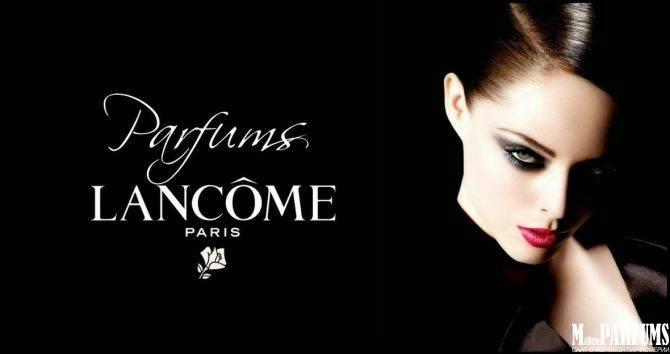 Актрисы и модели в рекламе ароматов Lancôme