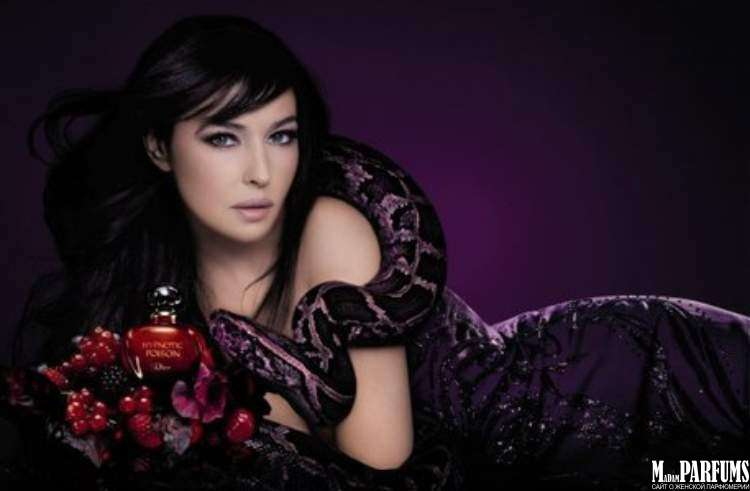 Реклама аромата Пуазон с Моникой Беллуччи