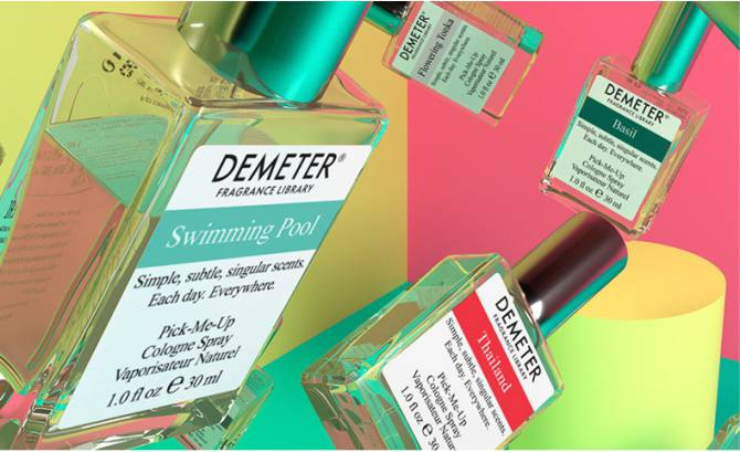 demeter духи Fragrance Library